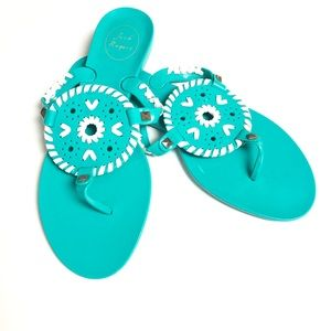Jack Rogers 8 Georgica Jelly Sandals
